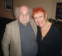 With Cynthia Crane