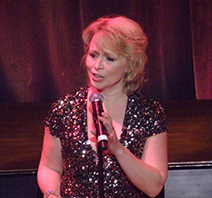Karen Oberlin performed selections from her Elvis Costello show.