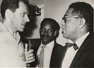 John Dankworth, Frank Holder, Dizzy Gillespie