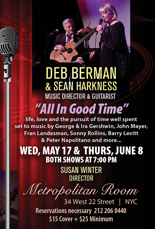 May 17: Deb Berman–All in Good Time | Cabaret Scenes
