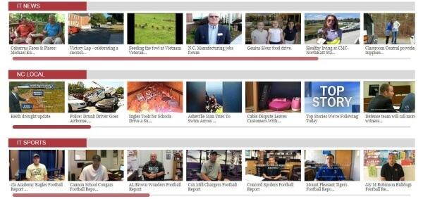 Click this photo for lots of news and sports videos including Cabarrus football coach's shows