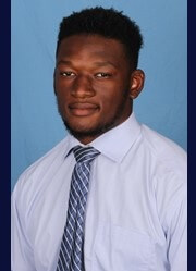 Lawrence Pittman, a former Mallard Creek player, courtesy Wingate Sports Information