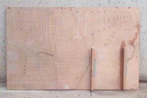 Taula d'eines de 98x154cm