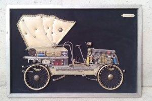 Quadre MERCEDES 1905 63x43cm