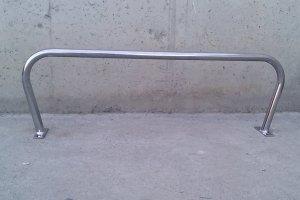 Barra inox 83x26cm