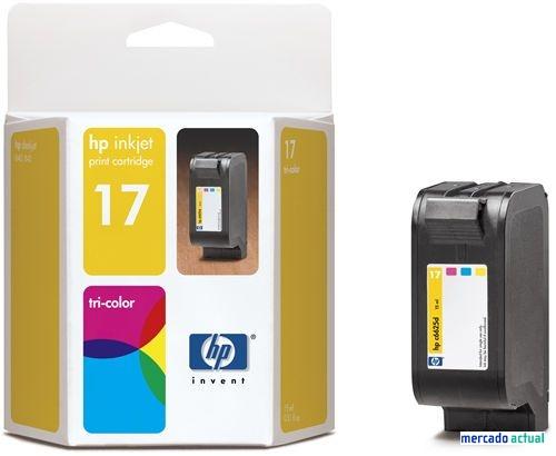 Tinta HP 17 de color per a estrenar a cabauoportunitats.com
