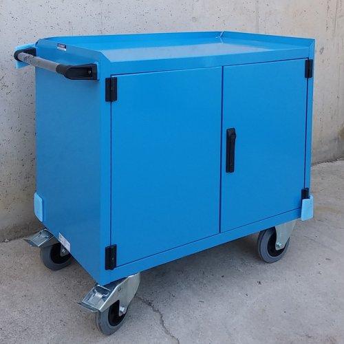 Armari metàl·lic amb rodes nou, amb tara estètica a cabauoportunitats.com