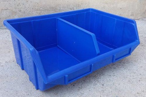 Cubetes apilables polipropilé 25x34x13cm d'ocasió a cabauoportunitats.com