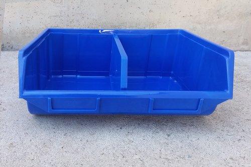 Cubeta apilable 25x34x13cm d'ocasió a cabauoportunitats.com