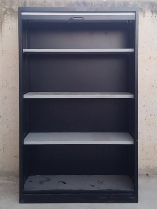 Armari persiana 197cm color negre d'ocasió a cabauoportunitats.com