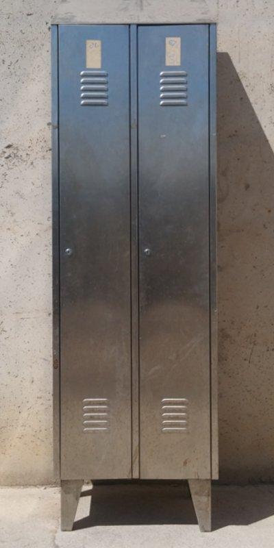 Taquilles d'acer inoxidable 208cm d'ocasió a cabauoportunitats.com Balaguer - Lleida - Catalunya