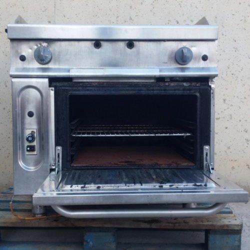 Plancha FAGOR con horno de ocasión para hostelería en cabauoportunitats.com