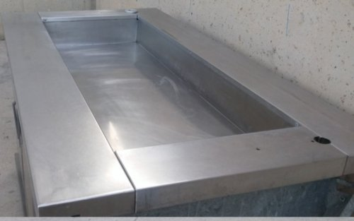 Mesa fría 160cm de ocasión en cabauoportunitats.com