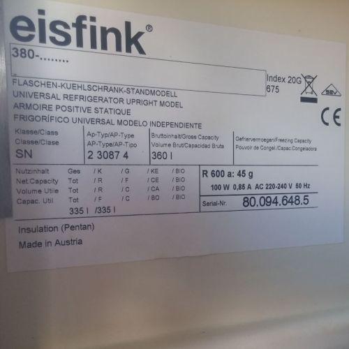 Nevera EISFINK multipolar d'ocasió a cabauoportunitats.com Balaguer - Lleida - Catalunya