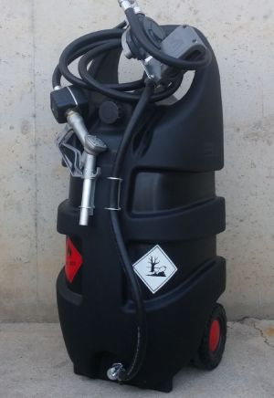 Sortidor gasoil amb dipòsit 110 litres SAMOA d'ocasió a cabauoportunitats.com Balaguer - Lleida - Catalunya