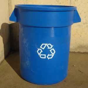 Cubo de reciclaje sin tapadora de ocasión en cabauoportunitats.com