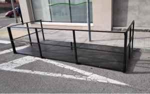 Terrassa per a bar 395cm d'ocasió a cabauoportunitats.com Balaguer - Lleida - Catalunya