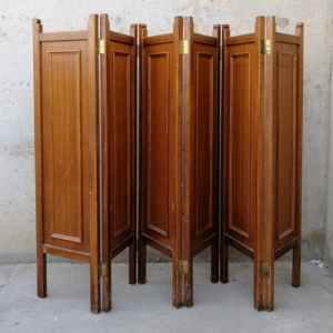 Paravent de fusta 200x150cm de segona mà a cabauoportunitats.com Balaguer - Lleida - Catalunya