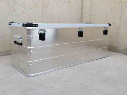 Caja de aluminio 117x40x40cm nueva en cabauoportunitats.com