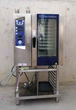 Forn de vapor per a hostaleria ELECTROLUX AIR-O-STEAM de segona mà en venda a cabauoportunitats.com Balaguer - Lleida - Catalunya