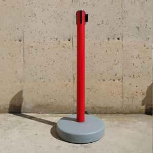 Balisa amb cinta ø4cm nova procedent d'un lot amb tara estètica en venda a cabauoportunitats.com Balaguer - Lleida - Catalunya
