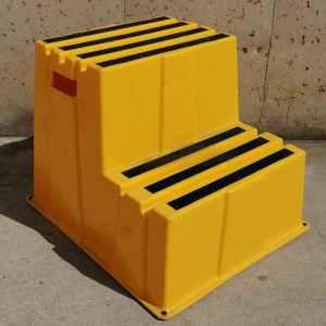 Escala de plàstic de 2 graons nova amb 260kg de capacitat en venda a cabauoportunitats.com Balaguer - Lleida - Catalunya