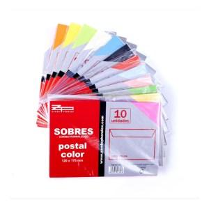 Lot de 260 sobres de colors nous procedents d'un final d'estoc en venda a cabauoportunitats.com Balaguer - Lleida - Catalunya
