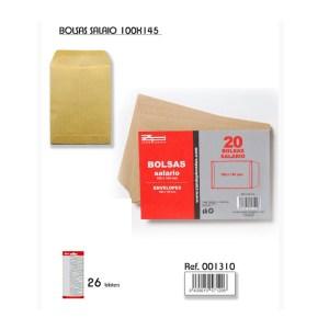 Bolsas sueldo papel kraft ZANDE PHONDEX 100x145mm en venta en cabauoportunitats.com