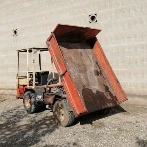 Dumper basculante matriculado AUSA MULTITRANS DV-17 de segunda mano en venta en cabauoportunitats.com