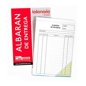 Lot de 10 talonaris d'albarans DIN-A5 nous procedents d'un final d'estoc en venda a cabauoportunitats.com Balaguer - Lleida - Catalunya