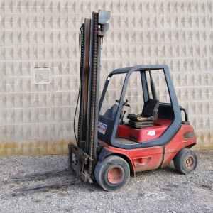 Toro Linde H 25 D DE 2500KG y 500cm de elevación de segunda mano en venta en cabauoportunitats.com