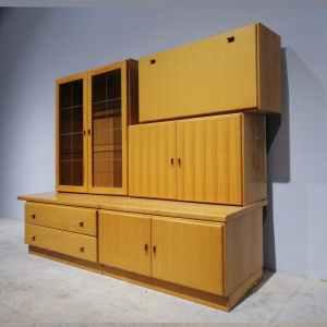 Conjunt de mobles per a menjador de color pi de segona mà en venda a cabauoportunitats.com Balaguer - Lleida - Catalunya