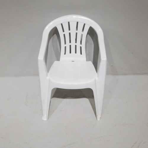 Lot de 2 cadires de plàstic blanques de segona mà en venda a cabauoportunitats.com Balaguer - Lleida - Catalunya