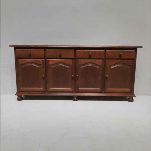 Bufet d'estil provençal i color castanyer de 193cm en venda a cabauoportunitats.com Balaguer - Lleida - Catalunya