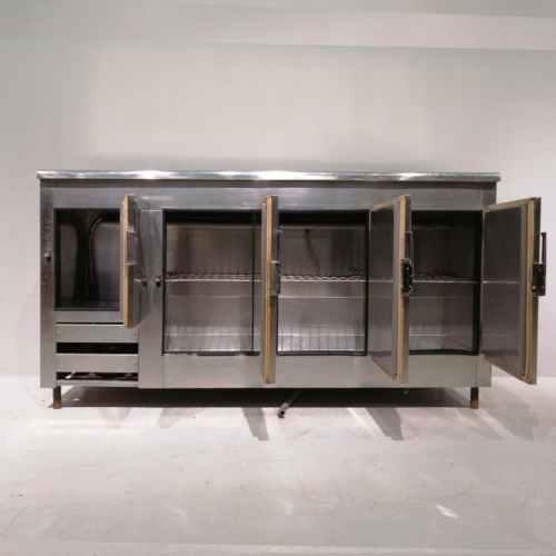 Mesa fría de acero inoxidable de seguna mano en venta en cabauoportunitats.com