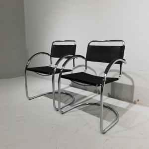 Lot de 2 cadires de cortesia tipus bauhaus de segona mà en venda a cabauoportunitats.com Balaguer - Lleida - Catalunya