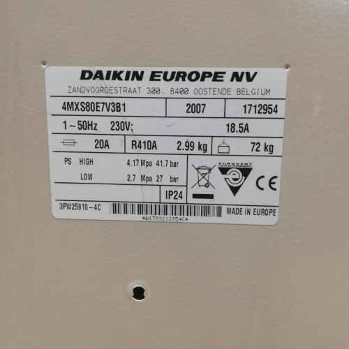 Aire condicionat inverter amb bomba de calor DAIKIN de segona mà en venda a cabauoportunitats.com Balaguer - Lleida - Catalunya