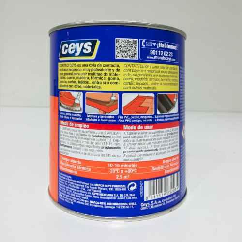 Lot de 4 pots de cola impacte CONTACTCEYS de 1000ml en venda a cabauoportunitats.com Balaguer - Lleida - Catalunya