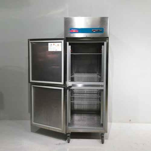 Congelador electrolux d'inox de segona mà en venda a cabauoportunitats.com Balaguer - Lleida - Catalunya
