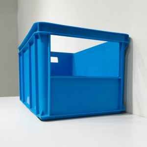 Lot de 2 caixes apilables amb finestra de 58x38cm en venda a cabauoportunitats.com Balaguer - Lleida - Catalunya