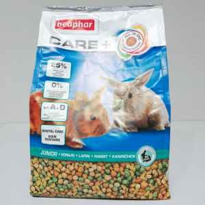Saco de pienso para conejos junior BEAPHAR CARE + 1,5kg en venta en cabauoportunitats.com