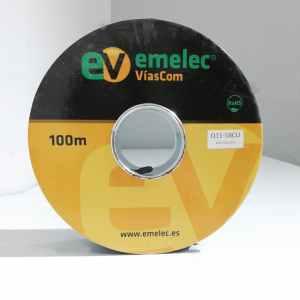 Bobina de 100m de cable coaxial EMELEC Q1158CU nuevo en venta en cabauoportunitats.com