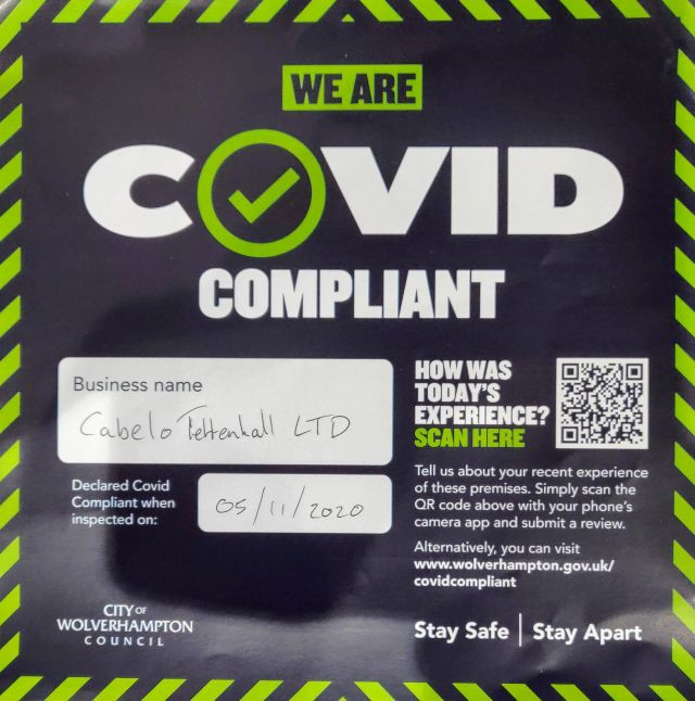 Covid Compliant - Cabelo