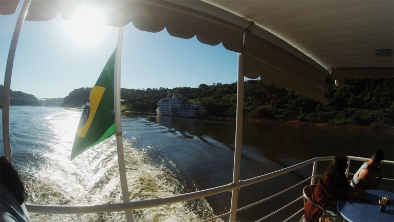 passeio rio parana