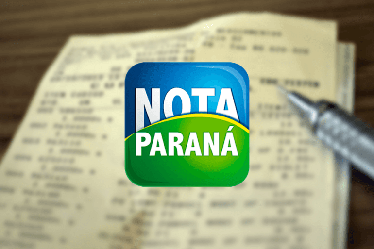 Nota Paraná (Foto Fazenda Contabilidade)