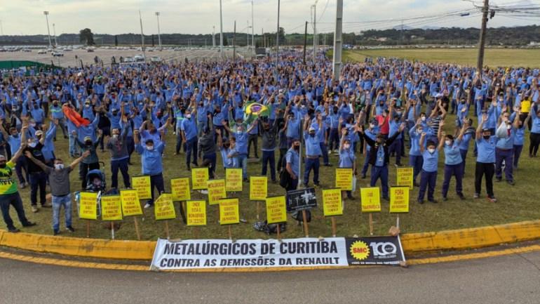 Funcionários Renault