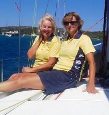 Jane & Louise CCS Sardinia Sail