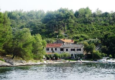 Bay of Mostir, Scedro Island, Sail Croatia