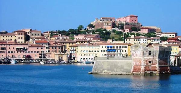 Elba Island, Coast of Tuscany, Italy Sailing