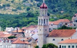 Sutivan, Port on Brac Island across from Split